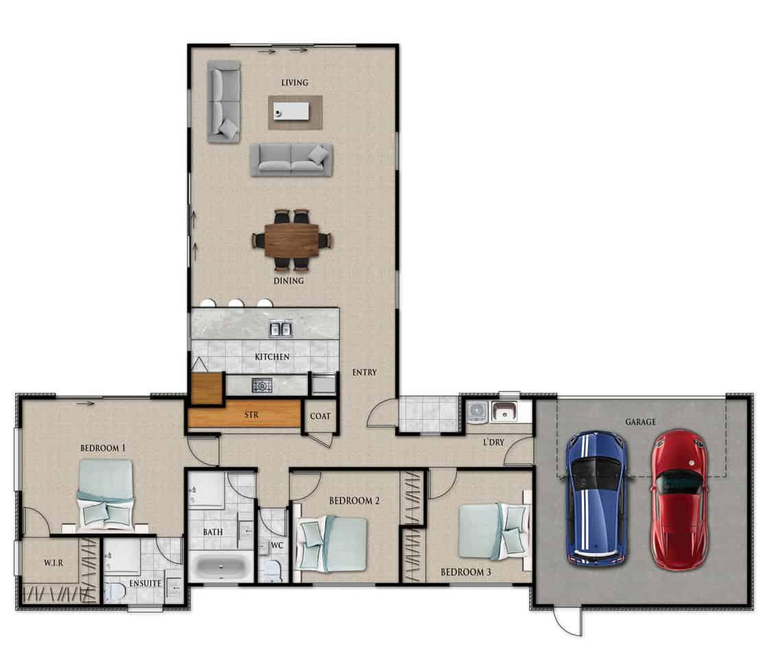 Fowler Homes Home Builder New Zealand - Favourites Plans Range - Kawarau