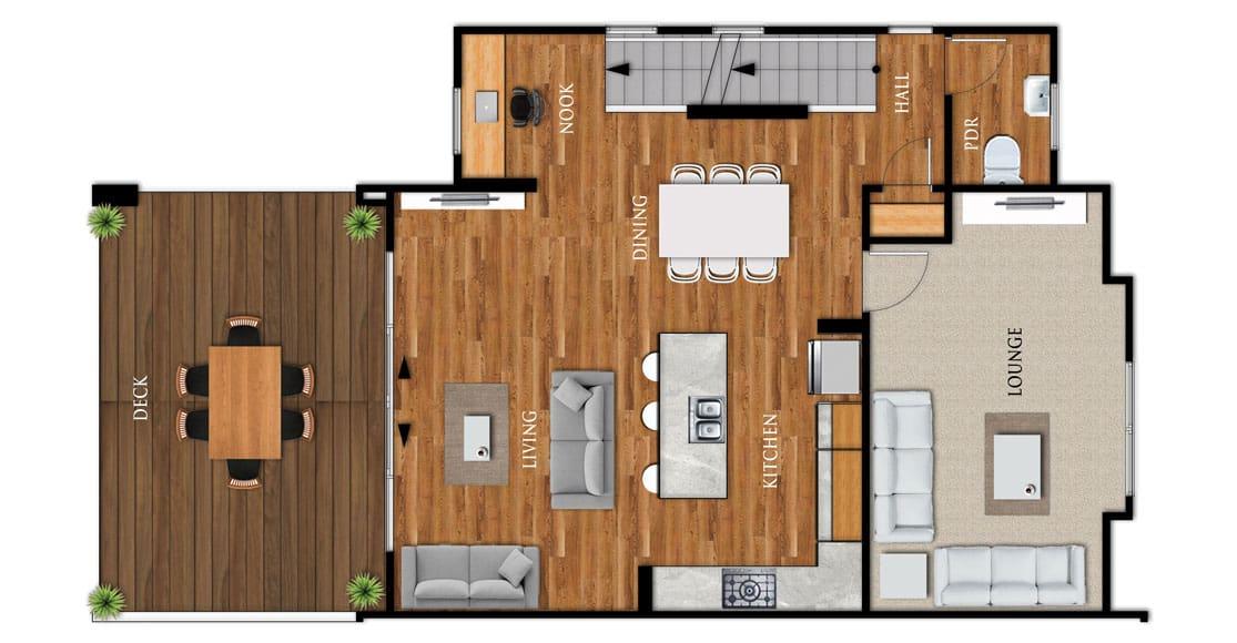 Fowler Homes Home Builder New Zealand - Favourites Plans Range - Manuka 2