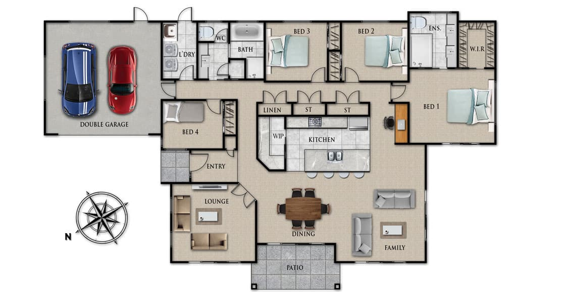 Fowler Homes Home Builder New Zealand - Favourites Plans Range - Puhoi