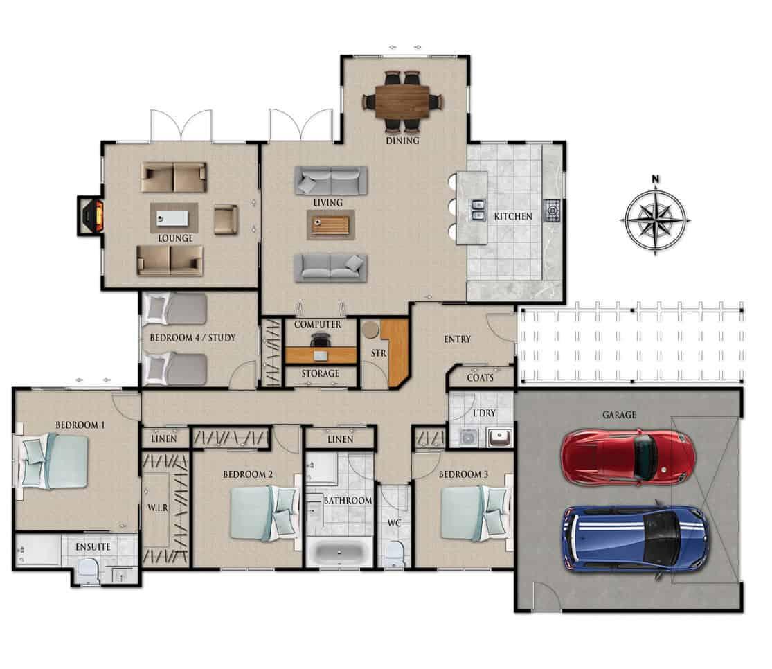 Fowler Homes Home Builder New Zealand - Favourites Plans Range - Richmond