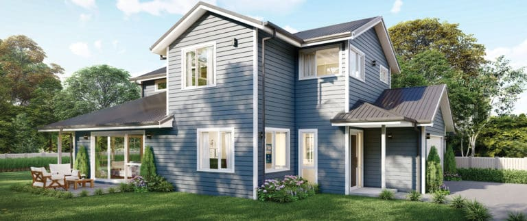 Fowler Homes Home Builder New Zealand - Favourites Plans Range - Omaha
