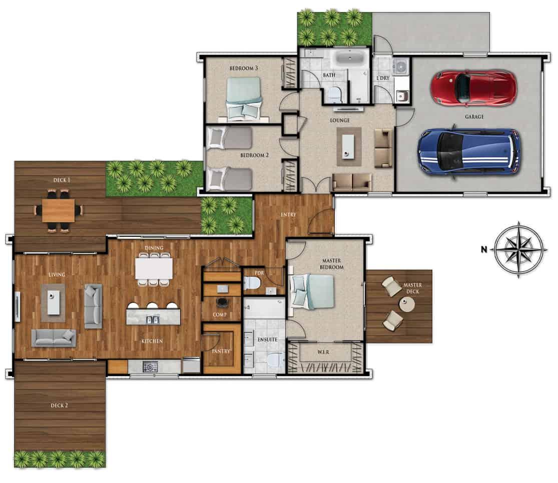 Fowler Homes Home Builder New Zealand - Favourites Plans Range - Cambridge